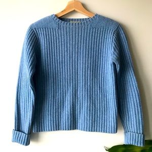 L.L.Bean Vintage Knit Cropped Sweater S